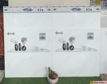 Gạch cao cấp giá rẻ 30x60 ốp nhà tắm tuyệt đẹp/3060 trắng vân khói