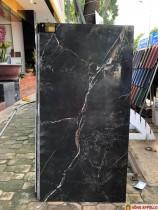 Giá gạch lát nền 60x120 bóng kiếng mầu đen