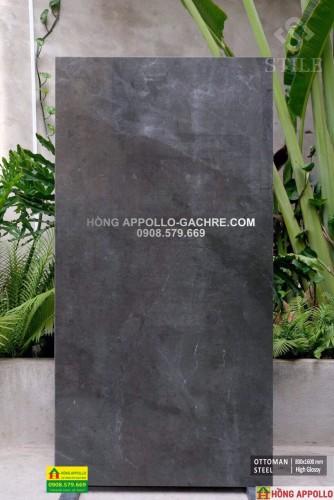 Gạch 80x160 lát nền mầu xám đá, vân đá cẩm thạch