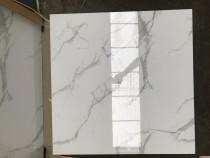 Gạch lát nền phòng ngủ vân đá trắng xám 80x80