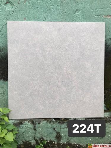 gạch lát nền nhà bếp chống trơn, đá 60x60 xám mờ nhẹ dễ lau chùi