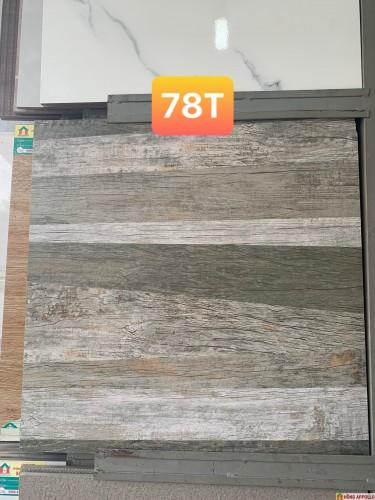 gạch lát nền phòng karaoke-cà phê, đá 6060 gỗ ghép xám trắng