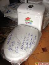 BÀN CẦU KHỐI  THIÊN THANH 2,1250N + LAVABO+ XỊT