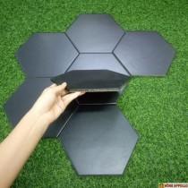 Gạch lục giác mầu đen huyền bí sang chảnh