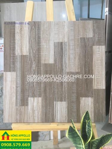 Gạch giả gỗ 60x60 nhám mờ giá rẻ 2020