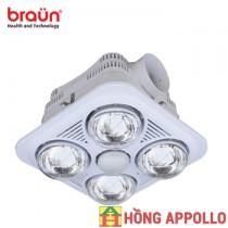 Đèn sưởi Braün BU04
