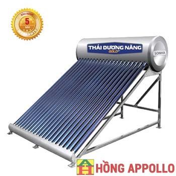 Thái dương năng Sơn Hà Gold 160L