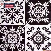 Gạch trang trí trắng đen 30x30 giá rẻ