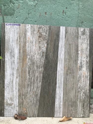 Gạch 60x60 giả gỗ giá rẻ, gạch vân gỗ ghép xám đẹp