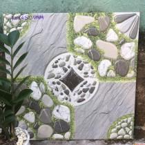 Gạch 50x50 lát sân vườn chống trơn giá rẻ