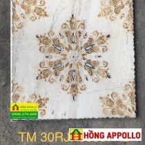 Gạch 30x30 trang trí nhũ vàng giá rẻ