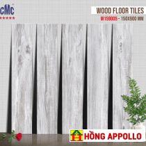 Gạch giả gỗ 15x90 lát nền phòng khách sang trọng